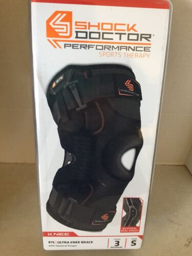 Shock Doctor Performance Sports Therapy-Ultra Knee Support