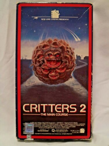 Critters 2; The Main Course, (1988) VHS Tape