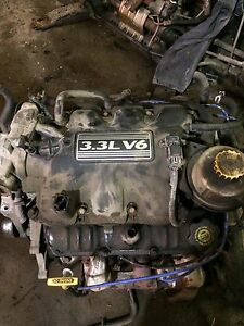 2003 Dodge caravan engine in transmission