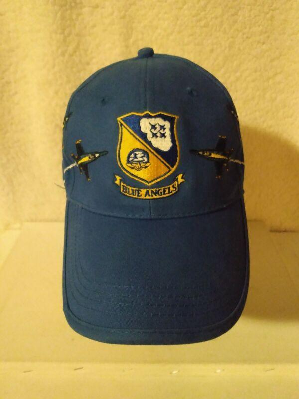 Vintage BLUE ANGELS US NAVY Hat Cap USA