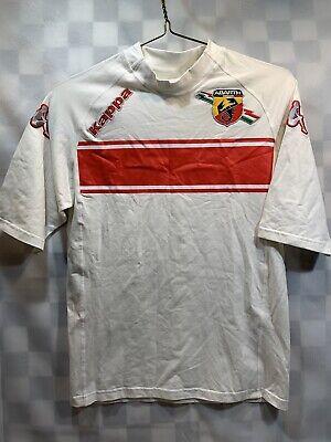 Kappa Abarth White Red T-Shirt Size M