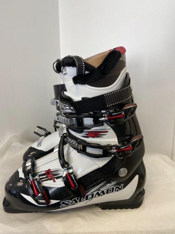 Salomon Men's Mission Lx Black/ White Ski Boot - Size 29 - Brand New