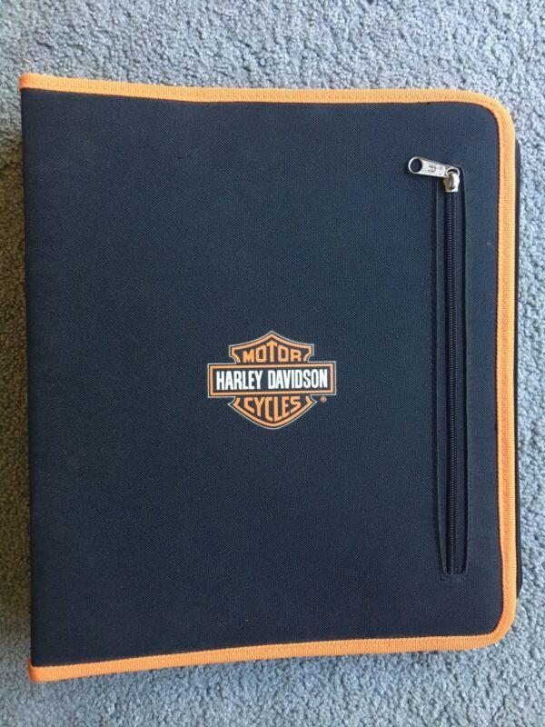 NEW Harley Davidson Binder Folders Set NOS