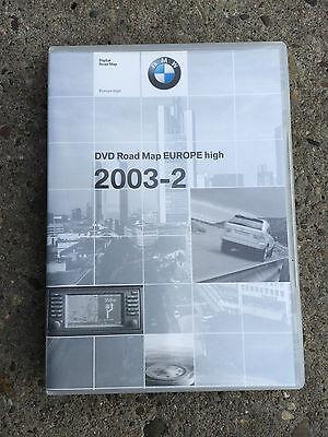 1 x   BMW  DVD  Road  Map  Europe  high  2003-2   Original gebraucht kaufen  Worms