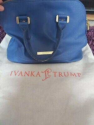 Ivanka Trump Blue Ladies Handbag