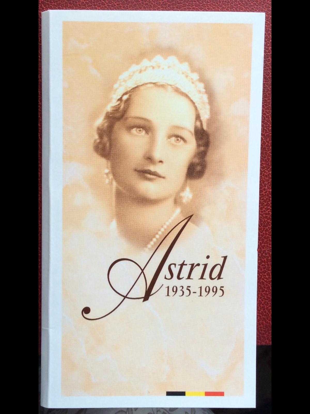 Belgique - Monnaie de 250 FRANCS 1995 Astrid - Argent - QP - PROOF