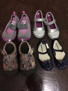 Sweet girls lot of shoes keen, crocs, clarks 4.5 6, 7