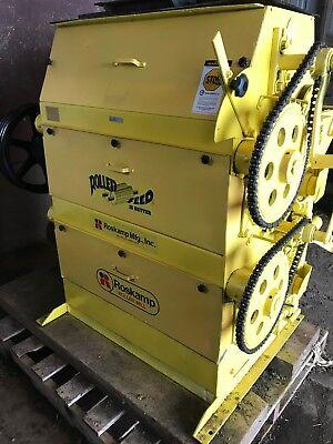 Roskamp Model K Roller Mill Equipment Livestock Feed Excellent Condition