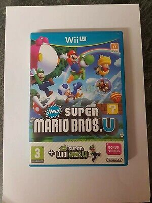 New Super Mario Bros Wii U Game