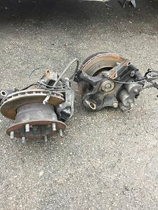 2016 Mercedes Benz Sprinter 3500 hub and brake caliper