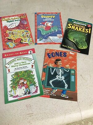 Lot of 5 Books - Level 2 and Level 3 Reading