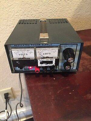 Precision Regulated Power Supply Power Mate Corp. Model Bp-40d