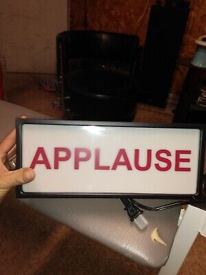 Cfl Lighted Box Applause Sign Pbteen