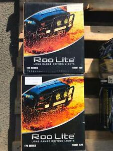 Roo Lite 175 Series 100W 12V Long Ranger Driving Lights (Pair) Fyshwick South Canberra Preview