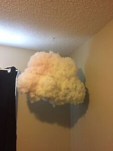 Two cloud lamps $40 each
