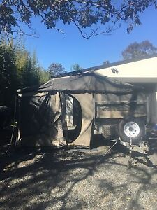 Emu camper galvanised off-road trailer tinny rack Worongary Gold Coast City Preview
