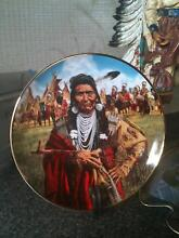 Franklin Mint. Indian Plates Figtree Wollongong Area Preview