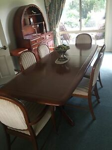 Berriman Dining Table 6 Seater 7 Piece Suite Extends To 8