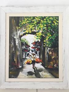 Authentic Vietnamese Acryllic Painting Kedron Brisbane North East Preview