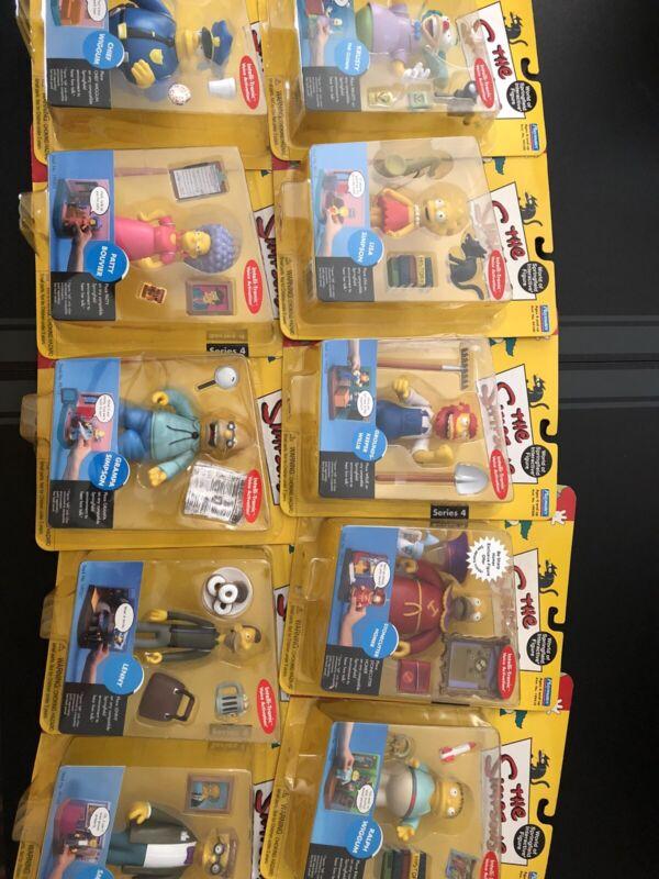 Playmates Simpsons Lot.  10 Figures!