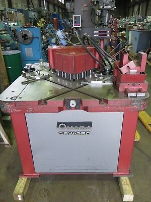 Amada Csh-250 Hydraulic Notcher Coper Radius Machine