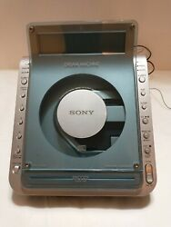 SONY Dream Machine Clock Radio Alarm CD Player ICF-CD855V - Tested, Works Great!