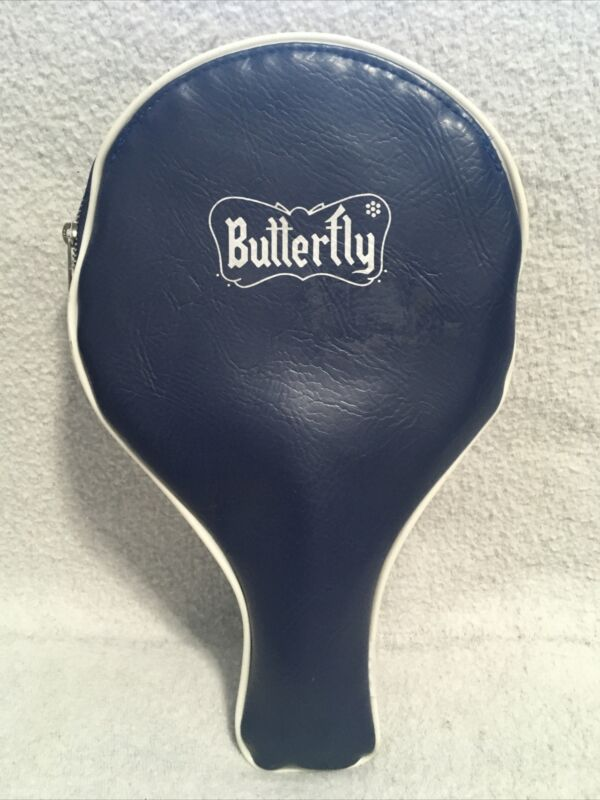 RARE Table Tennis Paddle Yuki-An Yuki-D13 Butterfly Japan Padded Pro w/ Case