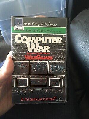 Computer War Atari 400 800 1200 With Box No Manual