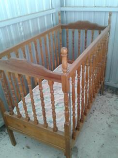 Wooden Baby's Cot