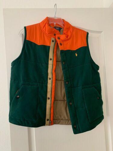 used polo Ralph Lauren big boys vest XL 18-20