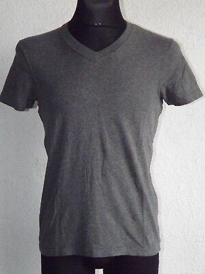Abercrombie & Fitch mens cotton short sleeve grey T-shirt size S segunda mano  Embacar hacia Argentina