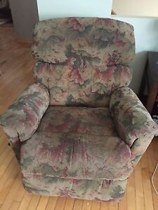 Matching Recliner and sofa