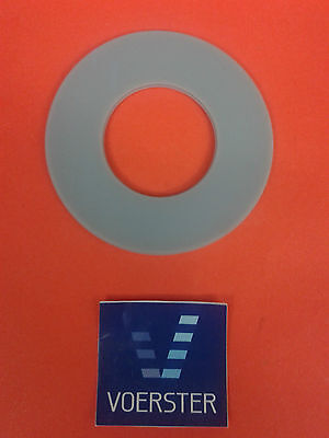 Heberglockendichtung hellgrau Silicon 63x32x3mm  passend für Geberit