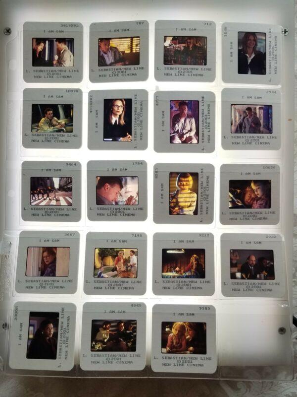 I Am Sam 2001 Movie Press Kit with 19 Color Slides Sean Penn Michelle Pfeiffer
