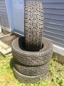 """17 """" Toyo Cross Country 10 ply Tires"""