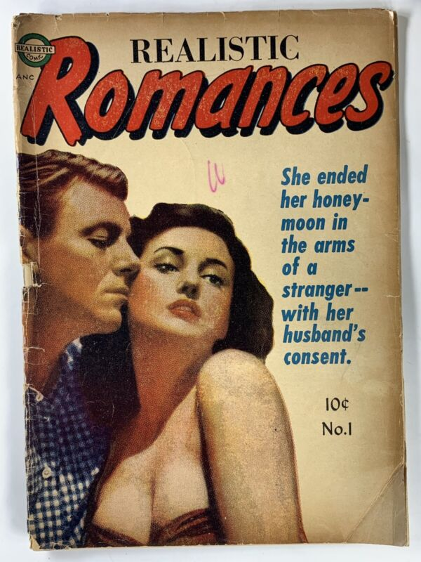 GA Romance Lot 8 Comics 1950s Pre-Code- Girl Confessions, Perfect Love, More