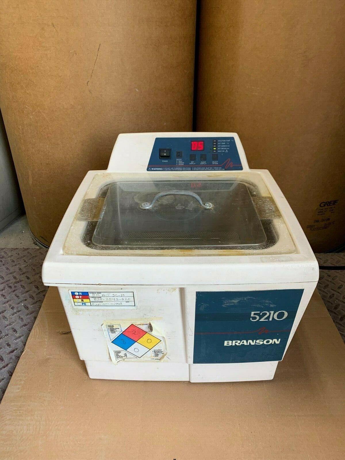 Branson 5210 5210R-DTH Ultrasonic Cleaner