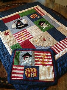 Boys Pirate Themed Bedding