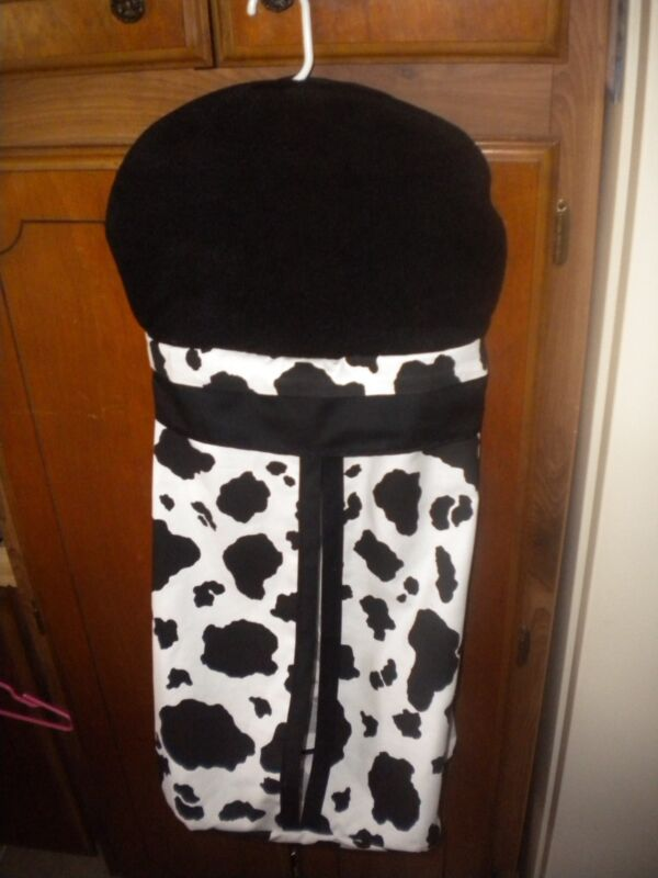 Cow Print Diaper Stacker or Camo Diaper Stacker ~ Nursery Diaper Stacker ~ NWOT