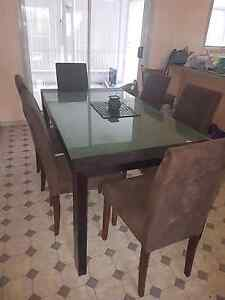 Dining suite - table and chairs Charlestown Lake Macquarie Area Preview