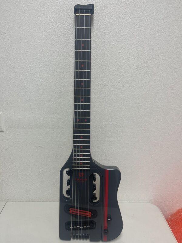 Traveler Guitar Speedster Deluxe Carrera Gray