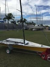 29er Sailing Dinghy Manly Brisbane South East Preview