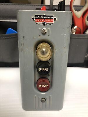 Eaton - Cutler Hammer - Motor Controller Switch Box