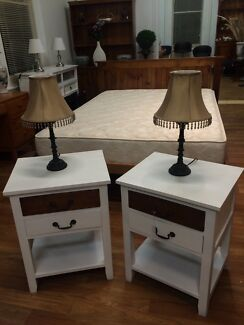Pair of bedside tables, near new Sandy Bay Hobart City Preview