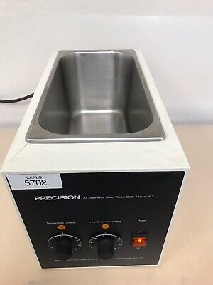 Precision Scientific 182 Heated Laboratory Water Bath Stainless Cat No 66643