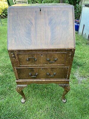 Wooden Antique Bureau Writing Desk