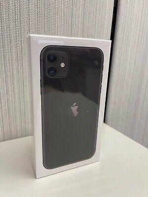 NEW Apple iPhone 11 - 64GB - Black (Verizon) A2111 (CDMA GSM)