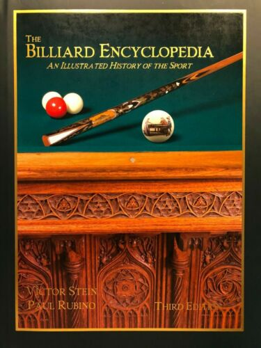 The Billiard Encyclopedia-signed byVictor Stein