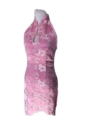 Pink Medium Adult Dance Halloween Chinese Geisha Costume
