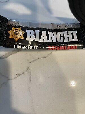 Bianchi 17708 Black Nylon 7205 Inner Liner Duty Belt - Large 40-46